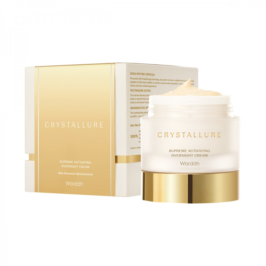 Crystallure Supreme Activating Overnight Cream [50 g]