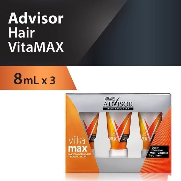 Makarizo Advisor Hair Recovery Vitamax 8mlx3