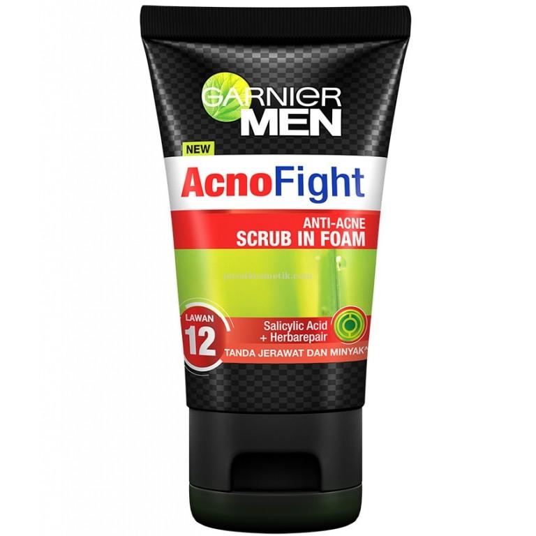 Garnier Acno Fight Anti-Acne Scrub In Foam 100ml