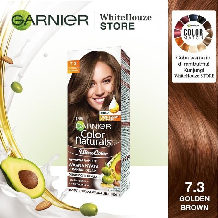 Garnier Color Natural Hair Color 7.3 Golden Brown