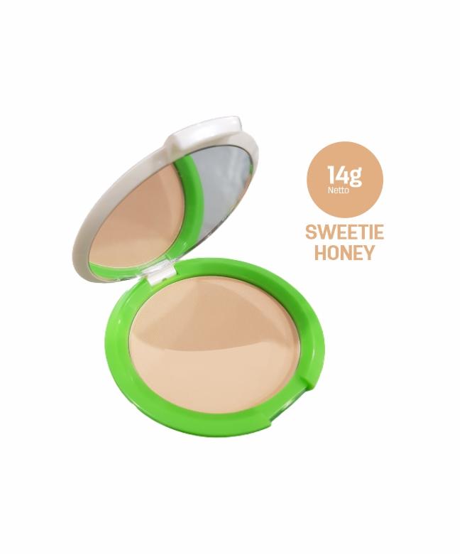 Acnes Compact Powder Sweetie Honey 14g-1