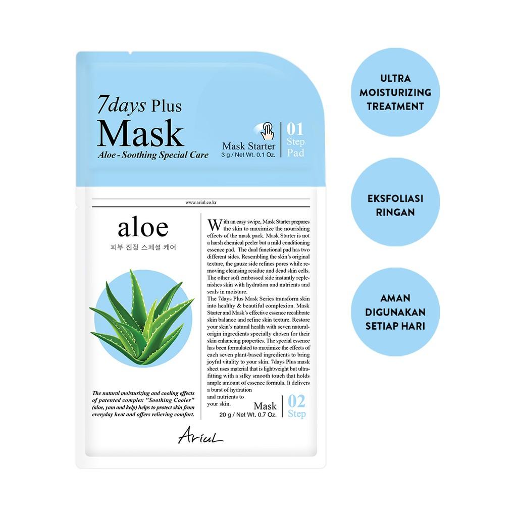 Ariul 7Days Plus Mask Aloe 20gr