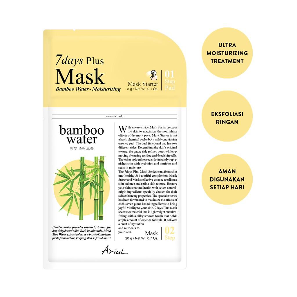 Ariul 7Days Plus Mask Bamboo Water 20gr-1