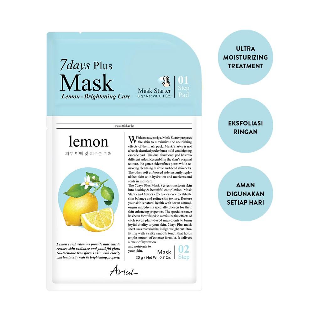 Ariul 7Days Plus Mask Lemon 20gr-1