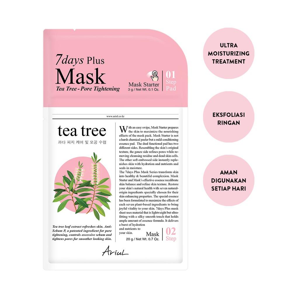 Ariul 7Days Plus Mask Tea Tree 20gr-1