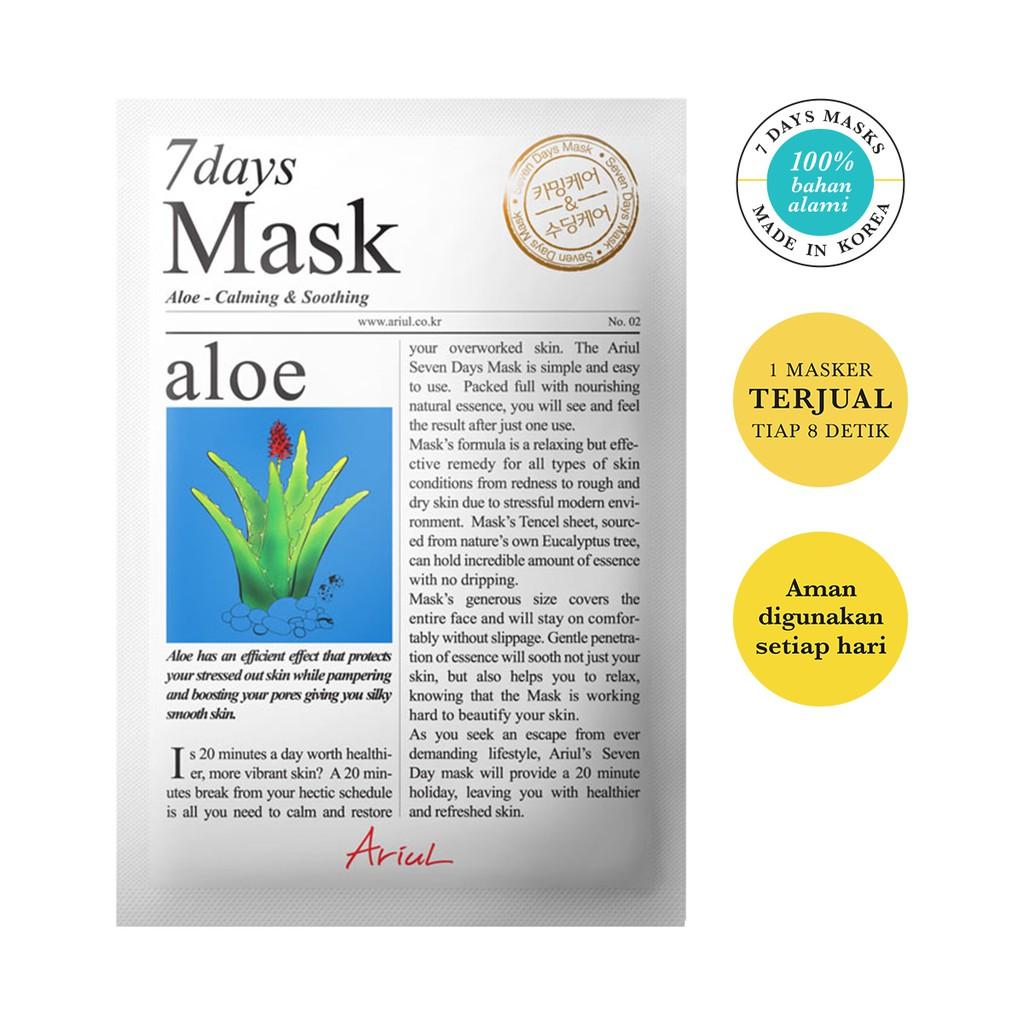 Ariul Mask 7days Aloe 20gr-2
