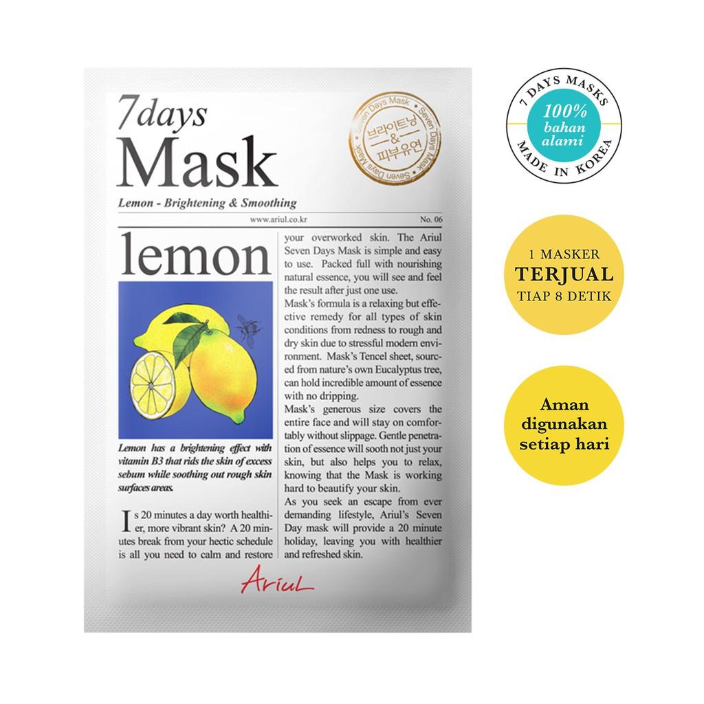 Ariul Mask 7days Lemon 20gr-1