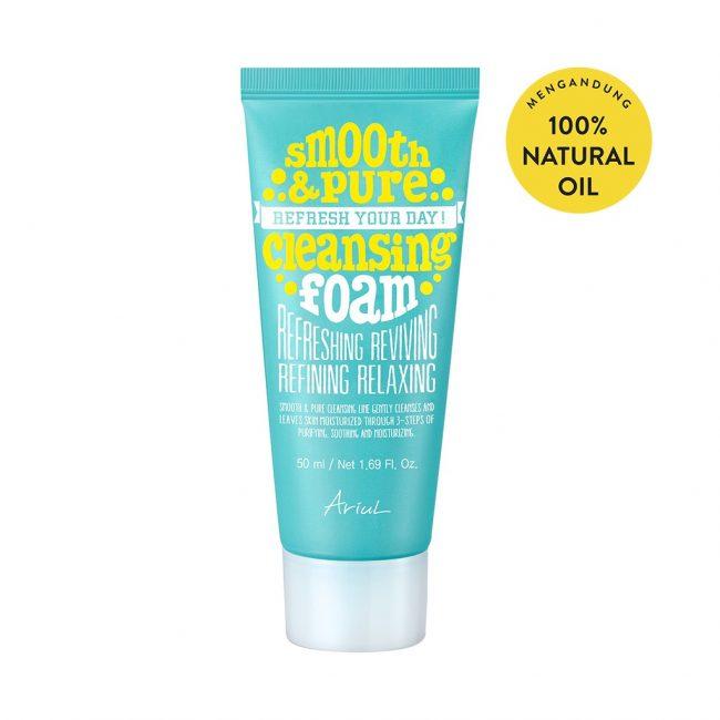 Ariul Smooth & Pure Cleansing Foam 50ml