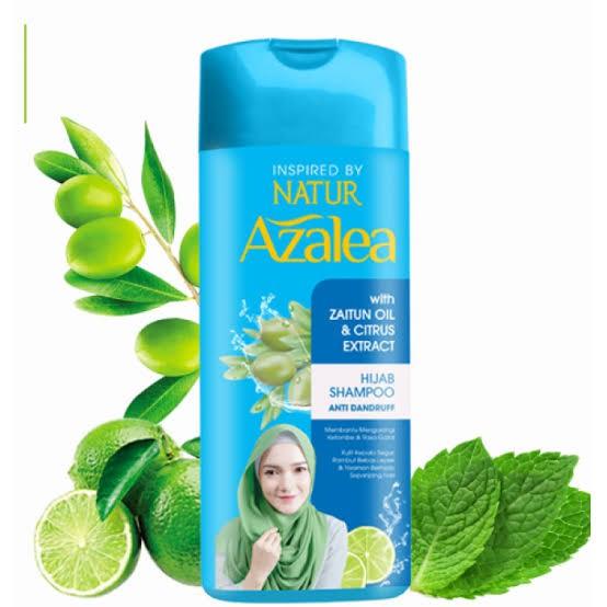 Azalea Hijab Shampoo Zaitun Oil & Citrus Extract 180ml