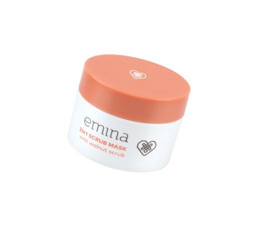 Emina 2 in 1 Scrub Mask