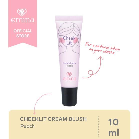 Emina Cheeklit Cream Blush Peach