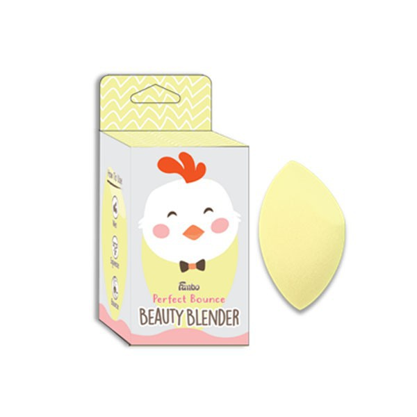 Fanbo Perfect Bounce Beauty Blender Ayam - Flated Ended-1
