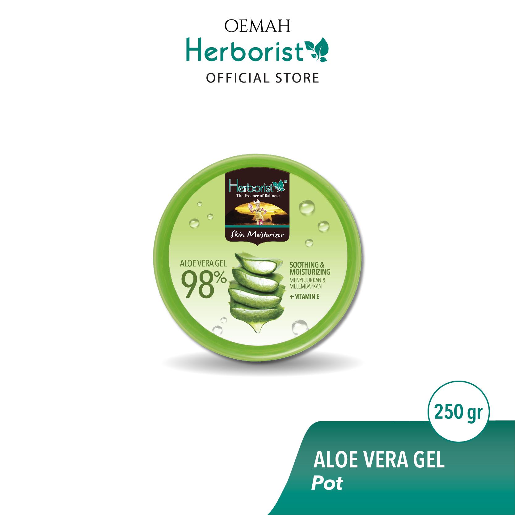 Herborist Aloe Vera Gel Pot 250gr