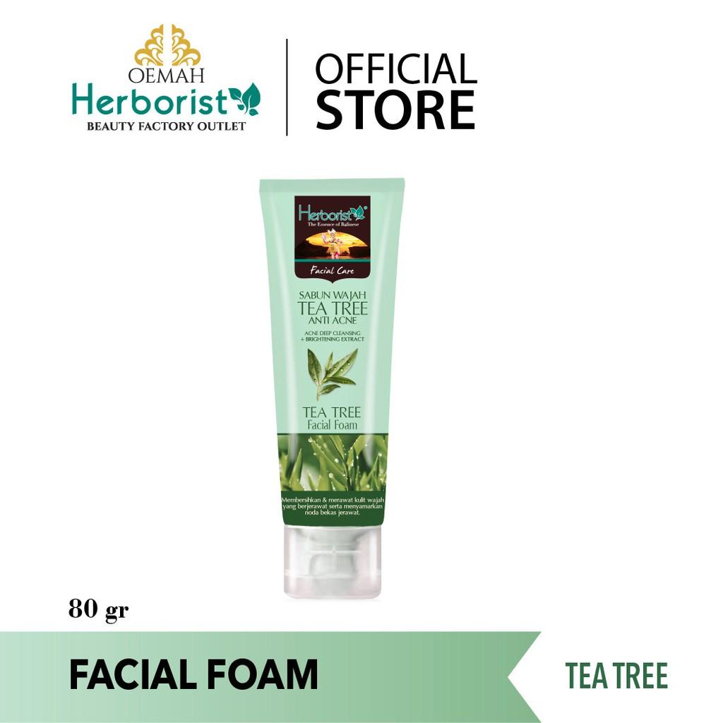Herborist Facial Foam Tea Tree 80gr