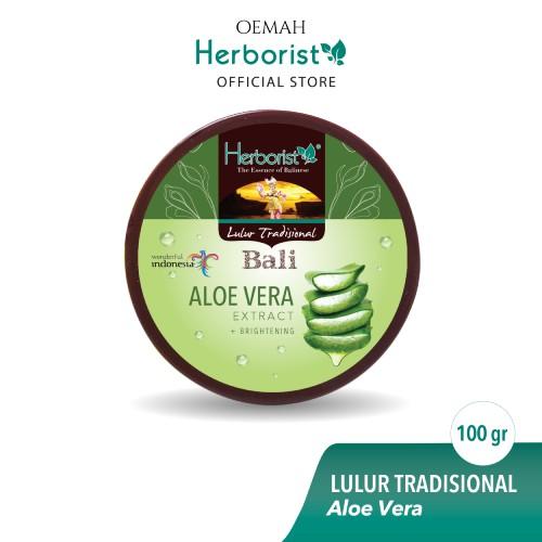 Herborist Lulur Tradisional Bali Aloe Vera 100gr