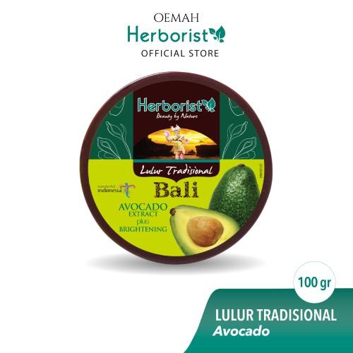 Herborist Lulur Tradisional Bali Avocado 100gr