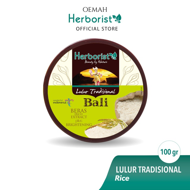 Herborist Lulur Tradisional Bali Beras 100gr