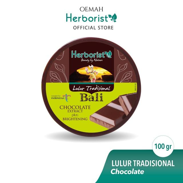 Herborist Lulur Tradisional Bali Chocolate 100gr
