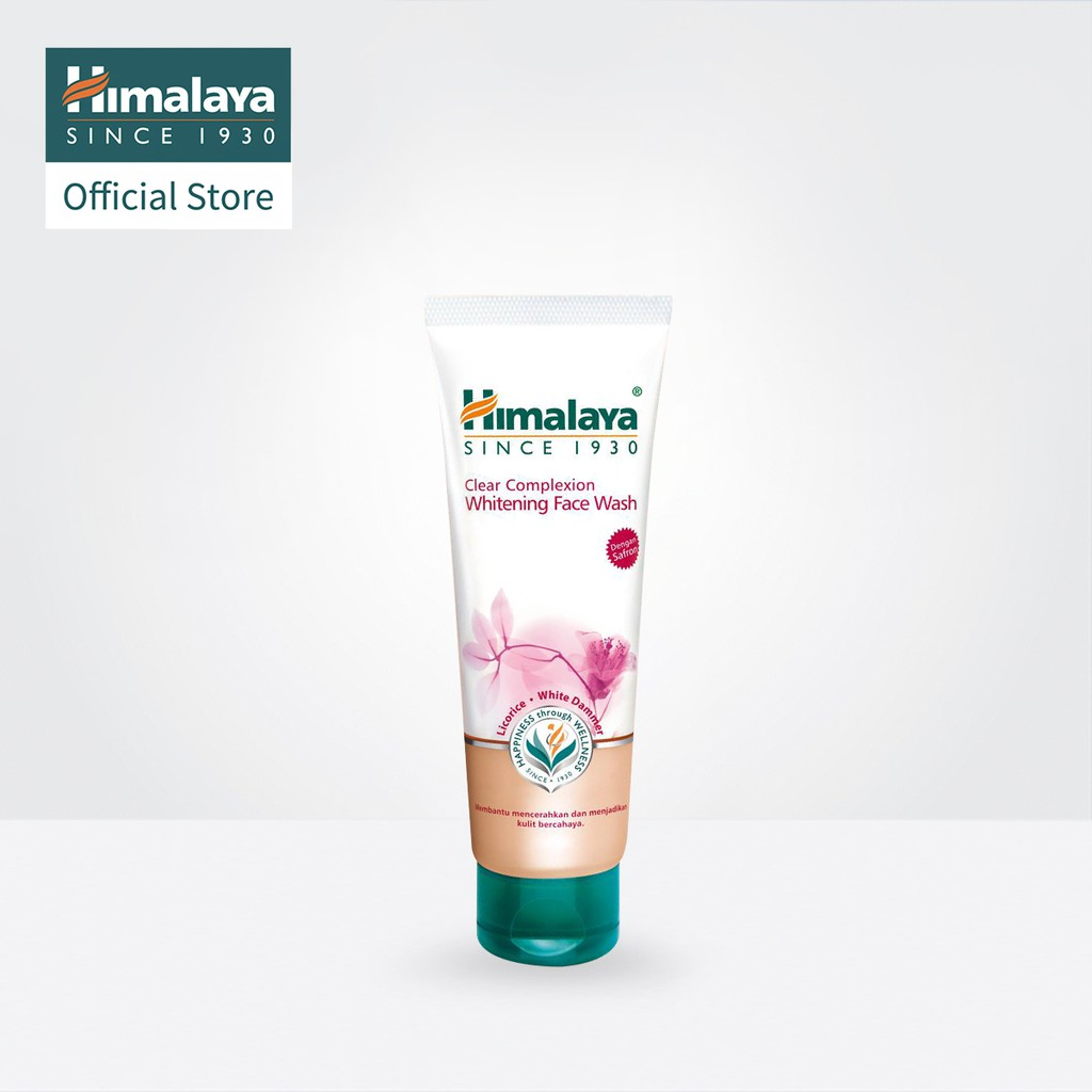 Himalaya Clear Complexion Whitening Face Wash 100ml