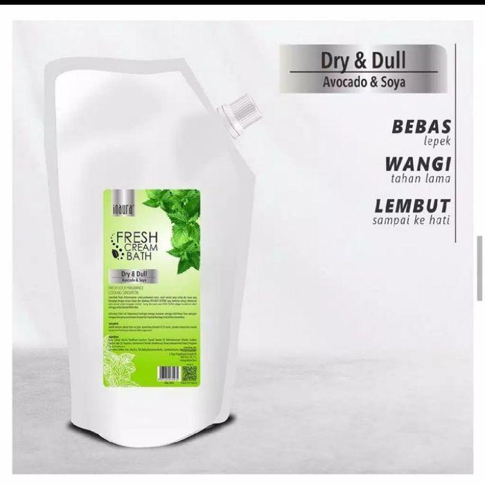 Inaura Creambath Fresh Dry & Dull (Avocado & Soya) 1000gr
