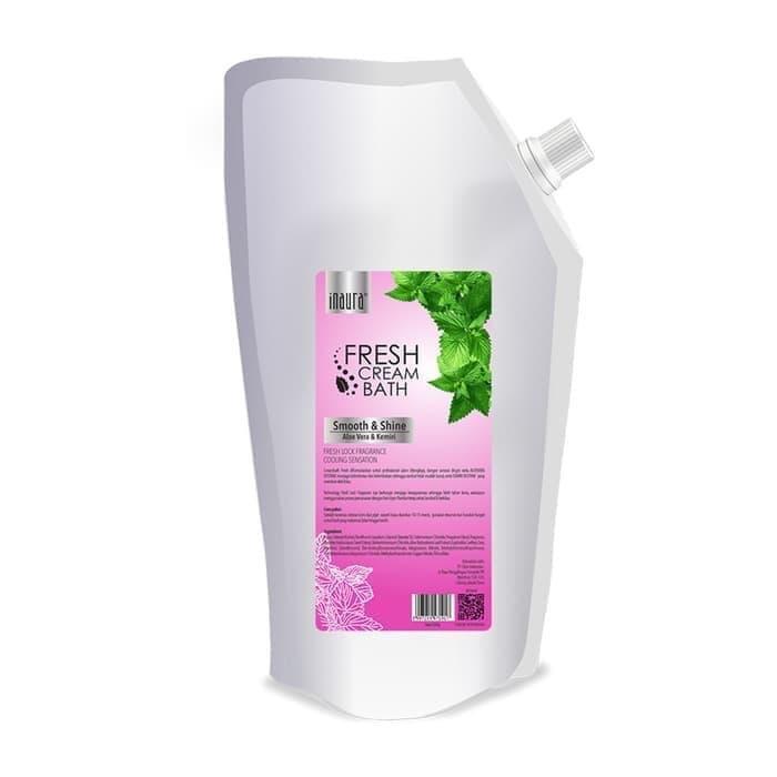 Inaura Creambath Fresh Smooth & Shine ( Aloe Vera & Kemiri ) 1000gr