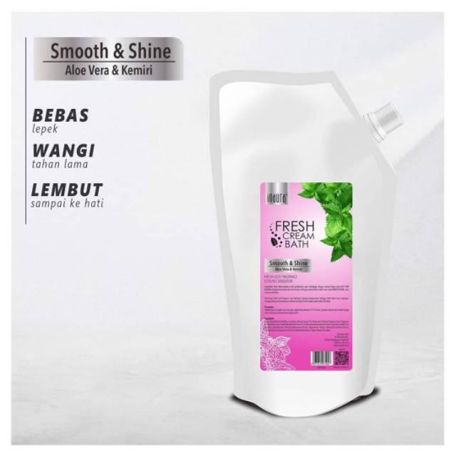 Inaura Creambath Fresh Smooth & Shine ( Aloe Vera & Kemiri )