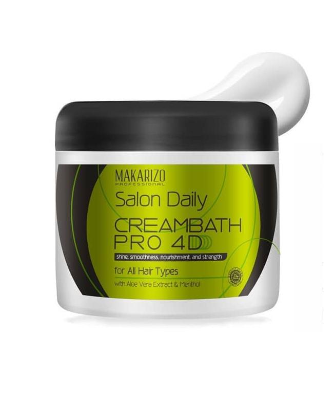 Makarizo Professional Salon Daily Creambath Pro Pot 500 gr-1