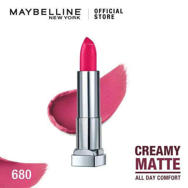 Maybelline Color Sensational Creamy Mattes Lipstick - Mesmerizing Magenta
