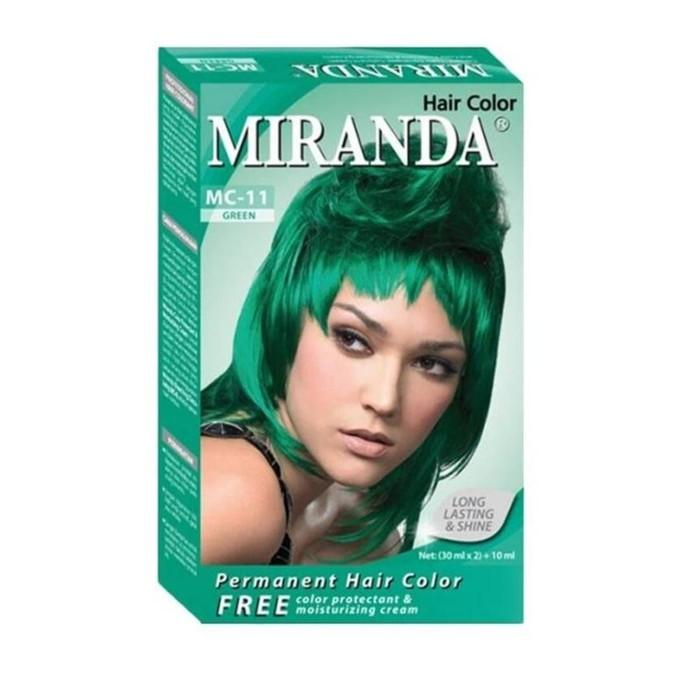 Miranda Hair Color MC-11 Green 30ml