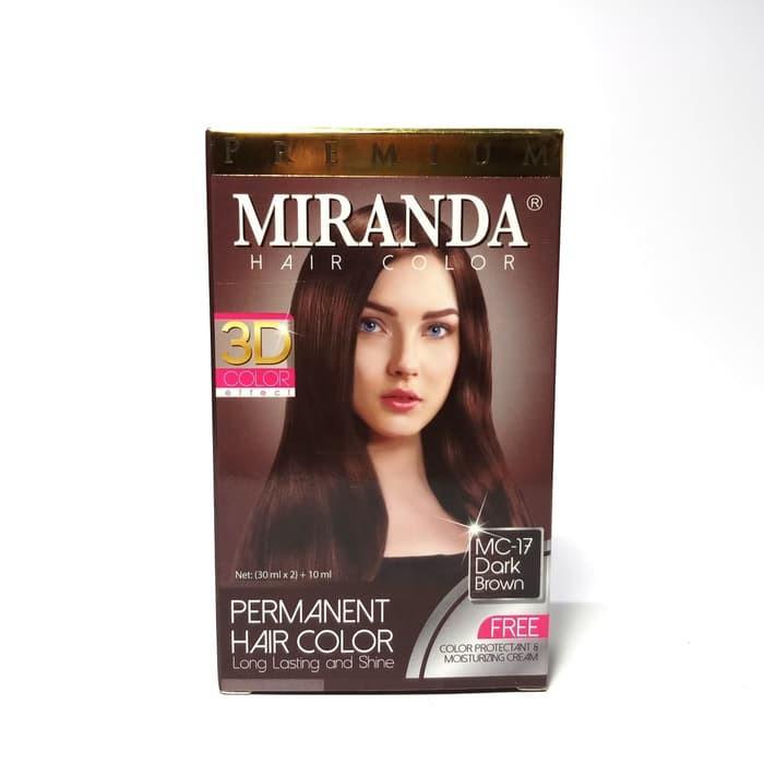 Miranda Hair Color MC-17 Dark Brown 30ml