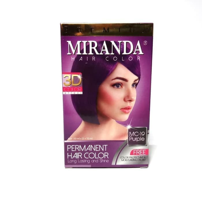 Miranda Hair Color MC-19 Purple 30ml