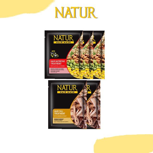 Natur Hair Mask Ginseng & Olive Oil