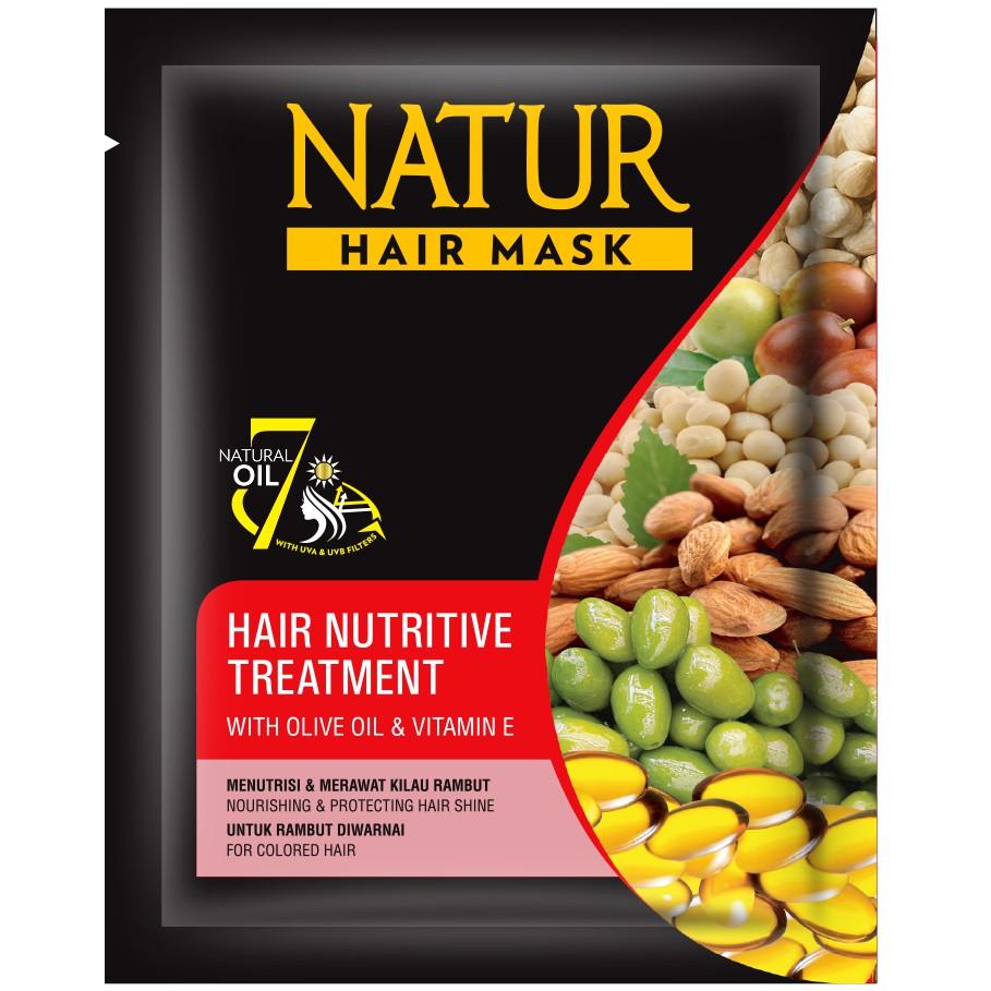 Natur Hair Mask Olive Oil & Vit E