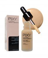 Pixy Stay Lash Serum Foundation 03 Natural Beige