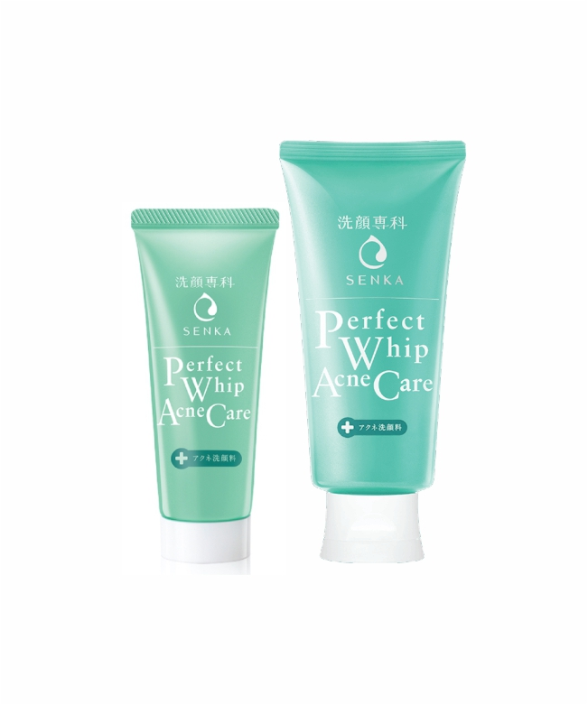 Senka Perfect Whip Acne Care 50g & 100g-1