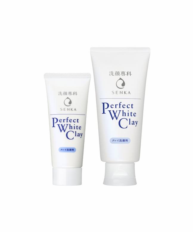 Senka Perfect White Clay 50g & 120g-1