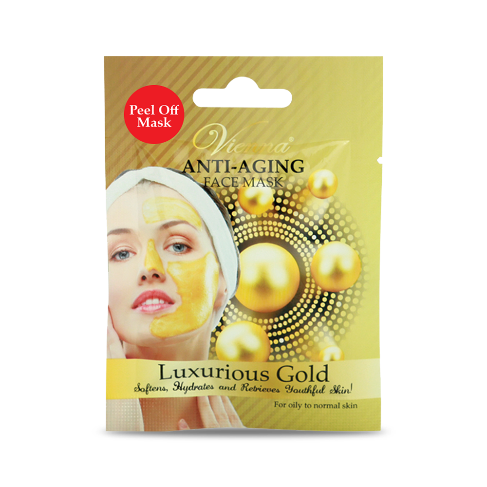 Vienna Anti Aging Face Mask Luxurious Gold 20g