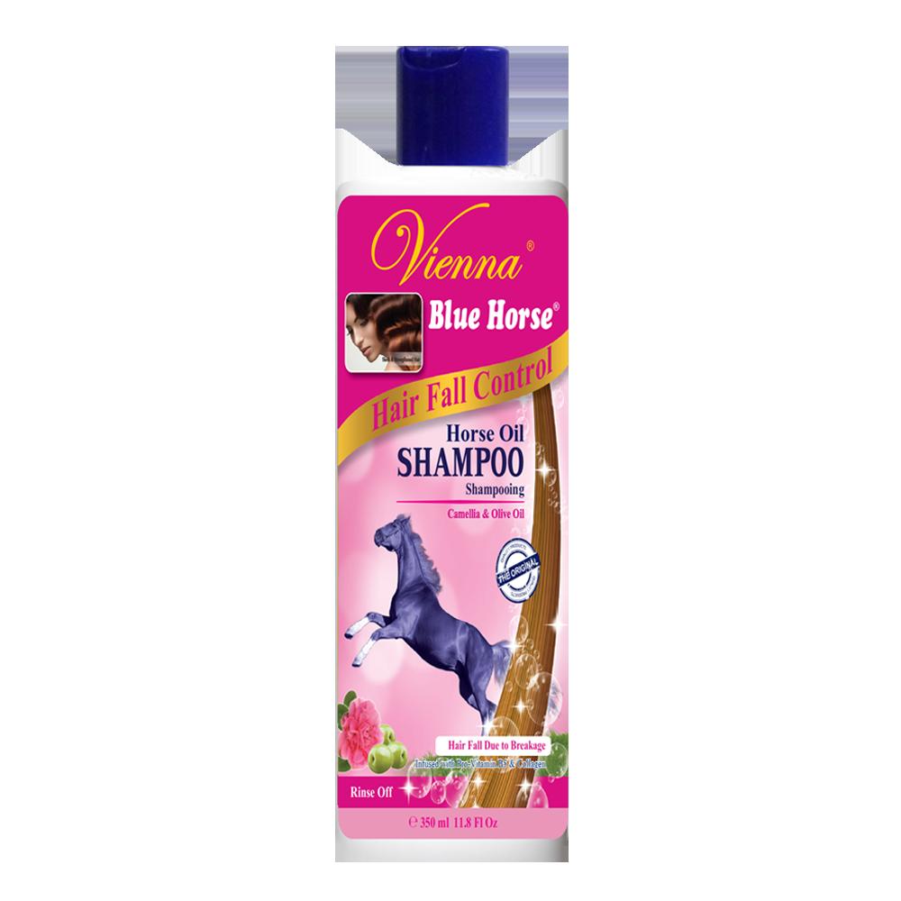 Vienna Blue Horse Shampoo Hair Fall Control