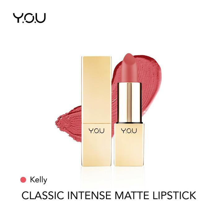 YOU Classic Intense Matte Lipstick 01 Kelly