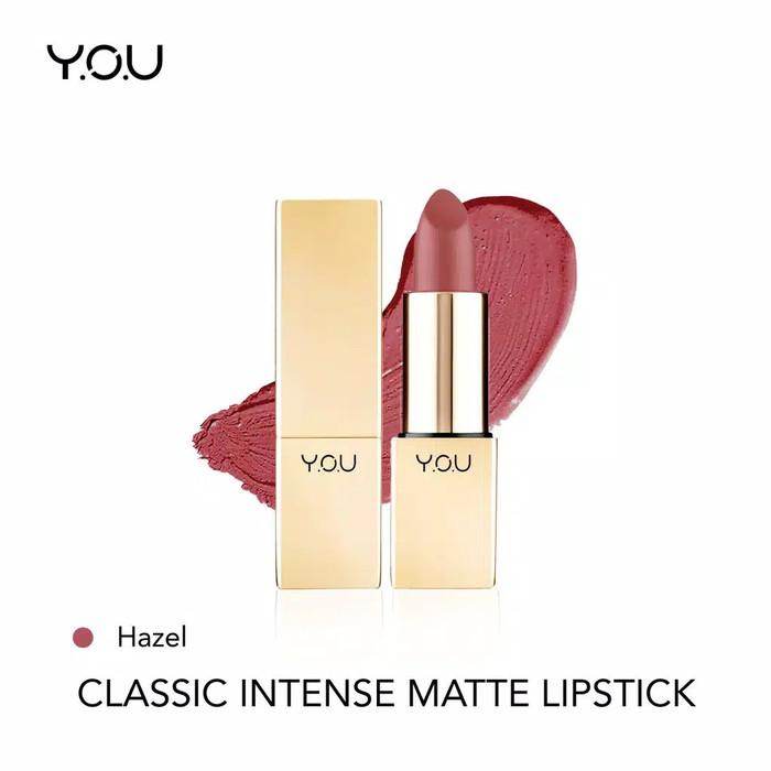 YOU Classic Intense Matte Lipstick 02 Hazel