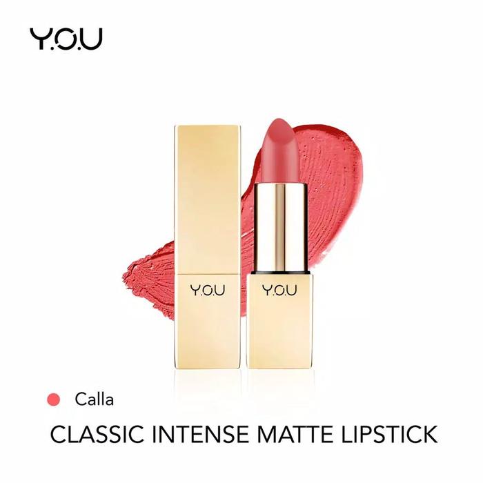 YOU Classic Intense Matte Lipstick 03 Calla