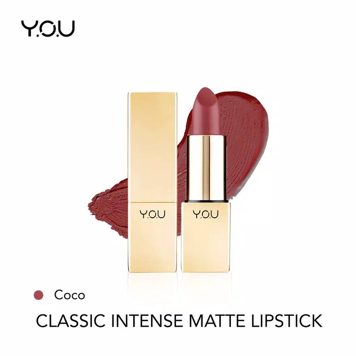 YOU Classic Intense Matte Lipstick 04 Coco