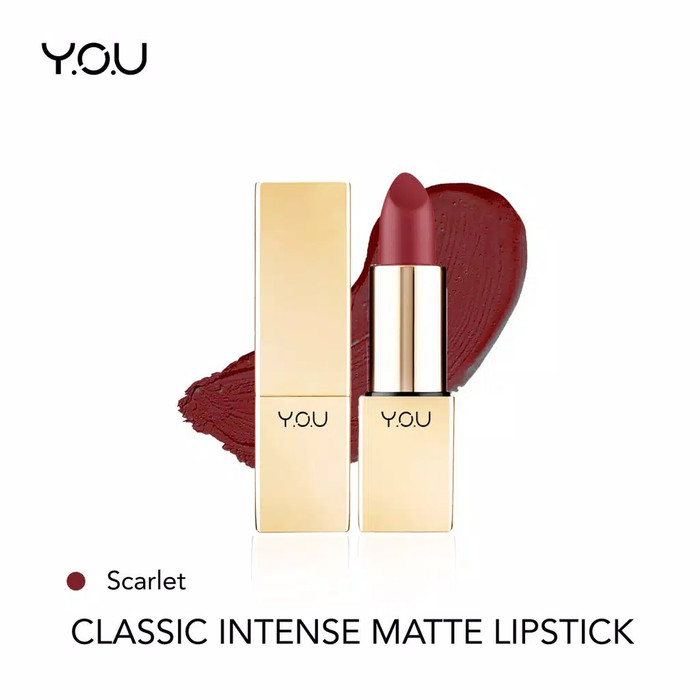 YOU Classic Intense Matte Lipstick 06 Scarlet
