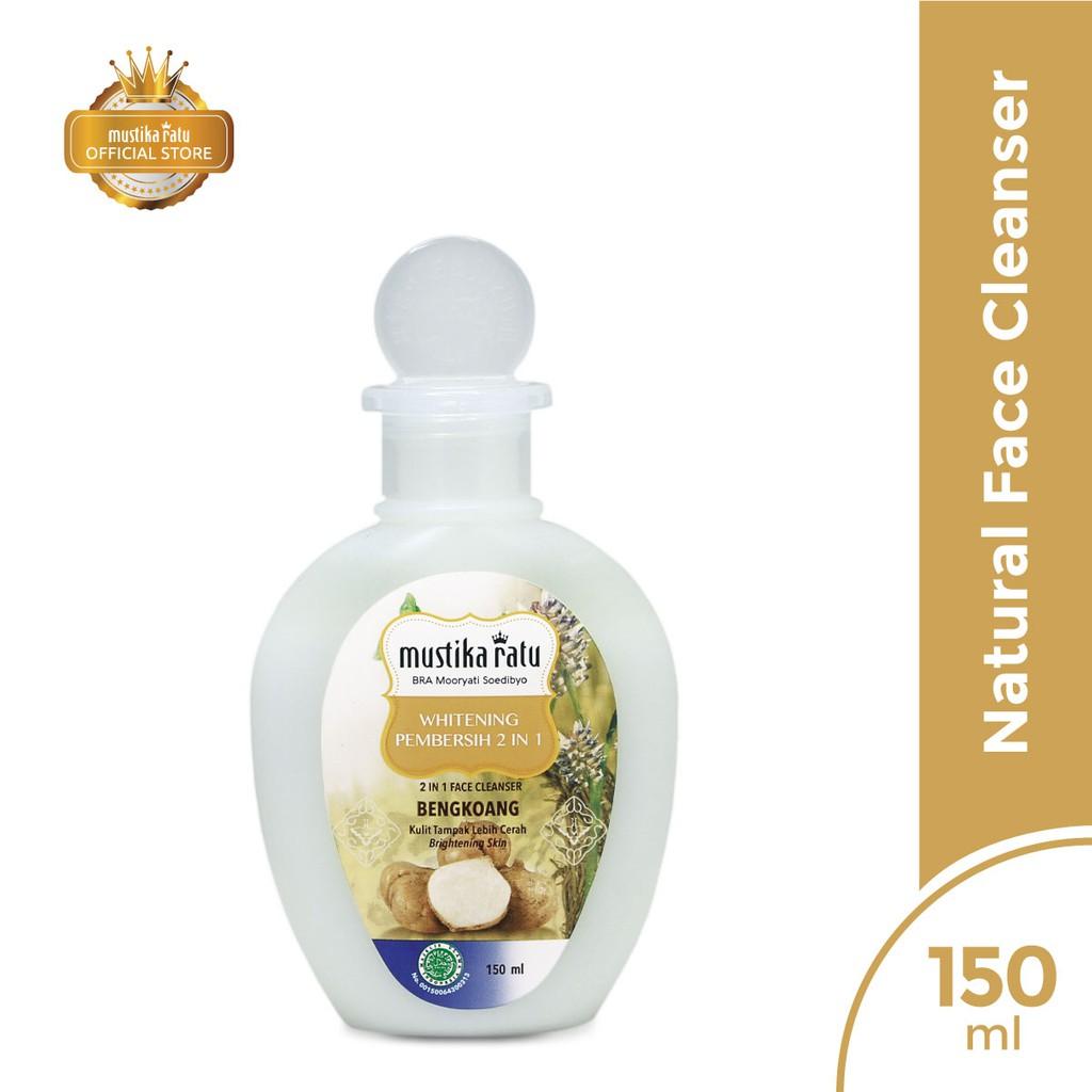 Mustika Ratu 2 in 1 Face Cleanser Whitening 150ml