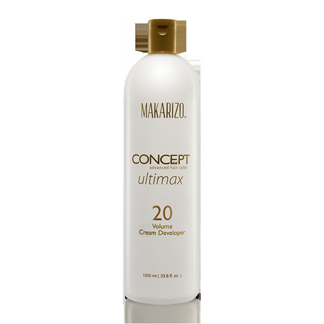 Makarizo 20 Volume Cream Developer 200ml