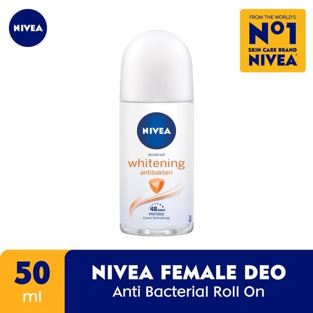 Nivea Deodorant Anti Bacterial Roll On 50ml