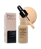 Pixy Stay Lash Serum Foundation 01 Rosy Ivory