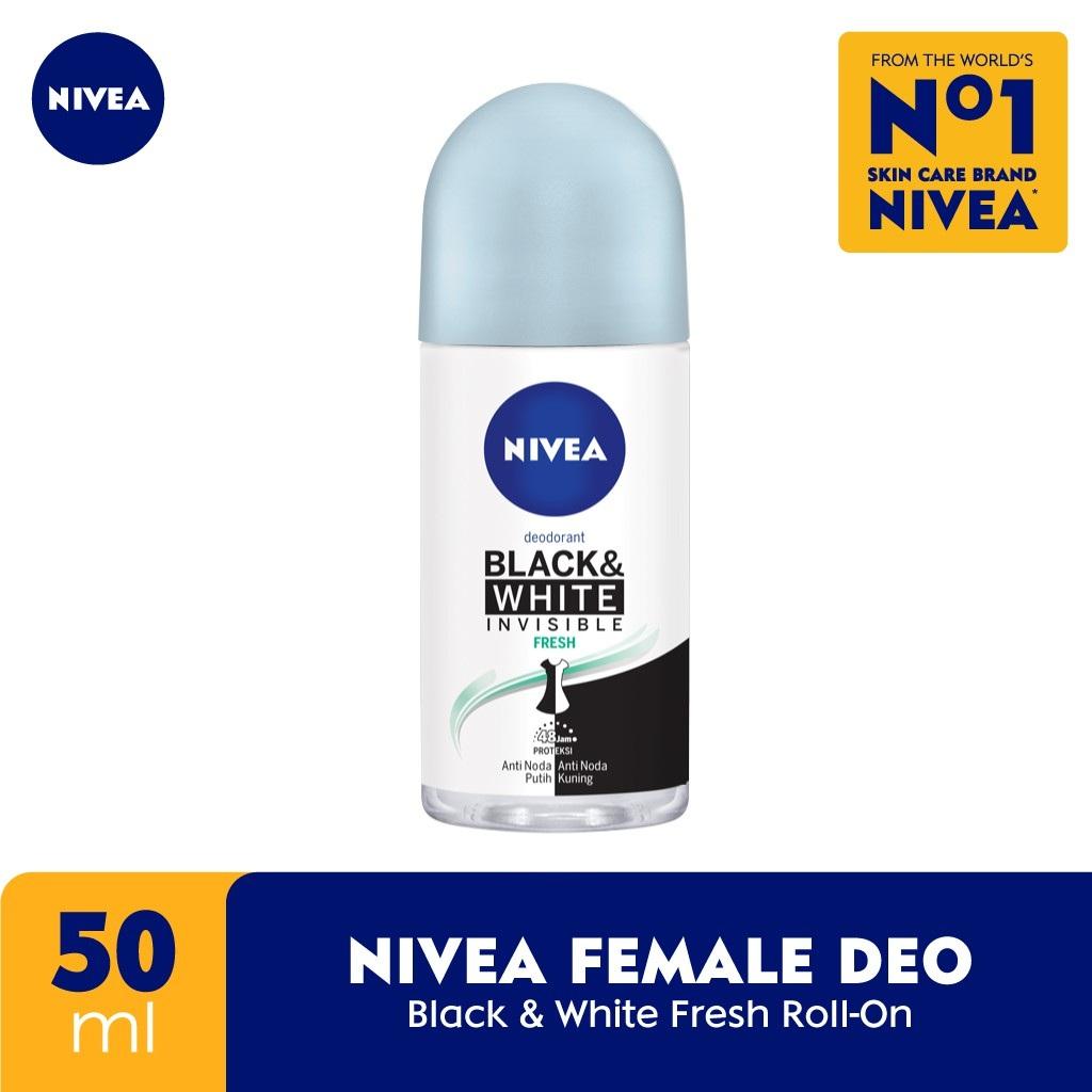 Nivea Deodorant Invisible Black & White Fresh Roll On 50ml