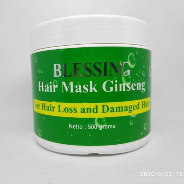 Blessing Hair Mask Gingseng 500g