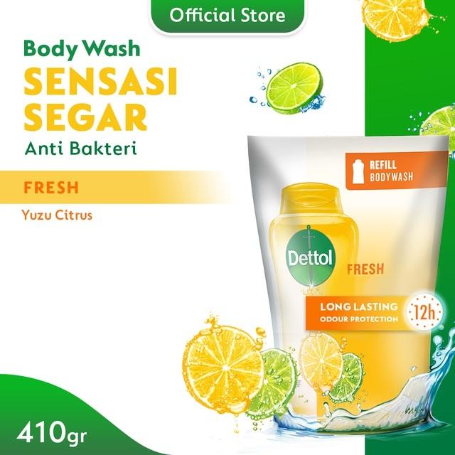 Dettol Bodywash Fresh Refill 410ml